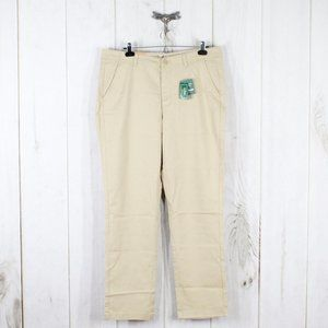 NEW! LL BEAN Favorite Fit Chino Pants Size 14